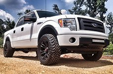 WORX® - 803SB BEAST Satin Black on Ford F-150