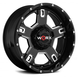 WORX® - 802BM HAVOC Gloss Black with Milled Accents