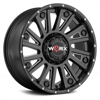 WORX® - 810BM SENTRY Gloss Black with Milled Accents