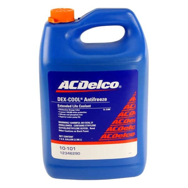 Ethylene Glycol Coolant >> Acdelco W0133 1922676 Acd Gm Original Equipment Dex Cool Engine Coolant And Antifreeze