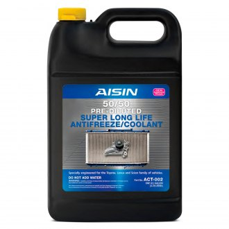 AISIN® - Prediluted 50/50 Long Life Engine Coolant and Antifreeze (Pink)