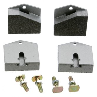 URO Parts® - Semi-Metallic Rear Parking Brake Pads