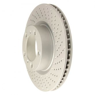 ATE® - 1-Piece Front Passenger Side Brake Rotor