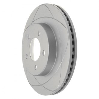 ATE® - Premium One Coated Slotted Brake Rotor