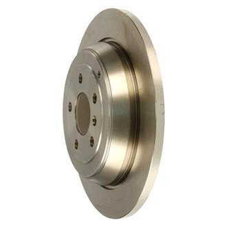ATE® - Solid 1-Piece Rear Brake Rotor