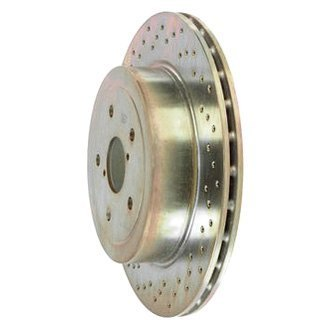 Brembo® - Cross Drilled Brake Disc Set