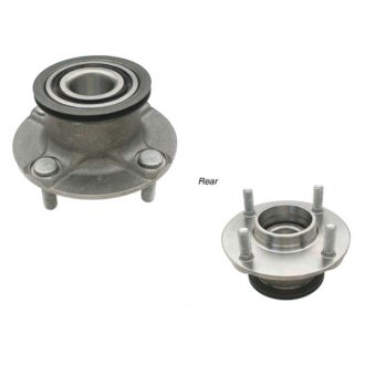 Genuine® - Front Wheel Bearing and Hub Assembly