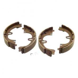 Genuine® - Rear Drum Brake Shoes