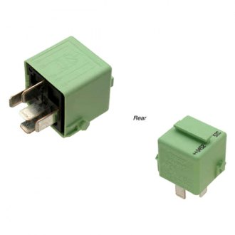 Genuine® - 4-Pin Light Green Fuel Pump Relay