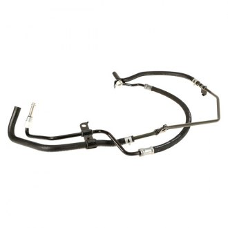 Toyota Power Steering Lines Pressure Hoses Fittings Carid. Genuine Power Steering Pressure Line Hose Assembly. Toyota. 1996 Toyota T100 Power Steering Diagram At Scoala.co