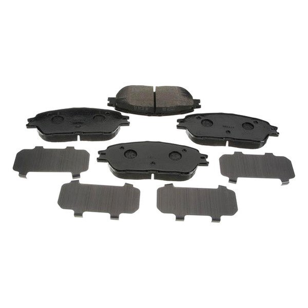 genuine toyota camry 2005 semi metallic disc brake pads. Black Bedroom Furniture Sets. Home Design Ideas