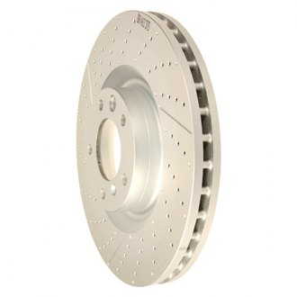 Genuine® - 1-Piece Brake Rotor