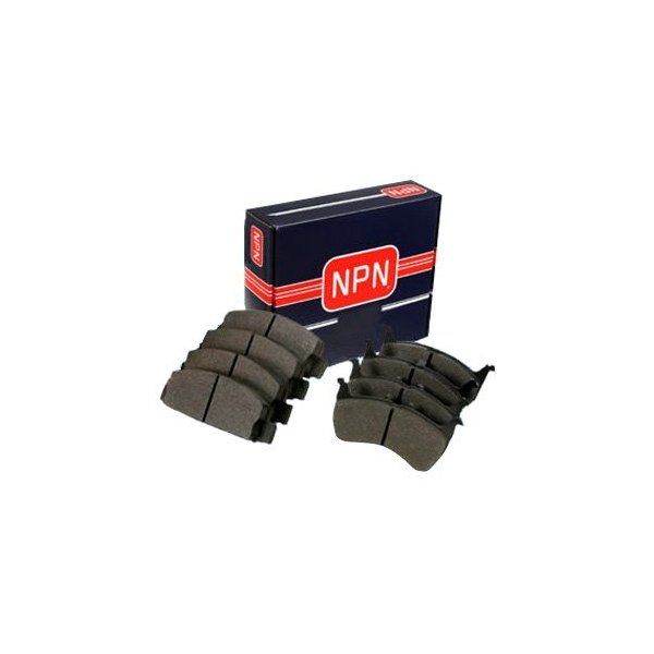 Image may not reflect your exact vehicle! NPN® - Semi-Metallic Front Disc Brake Pads