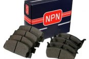 Image may not reflect your exact vehicle or part! NPN® - Front Disc Brake Pads