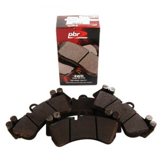 PBR® - 4WD Super™ Semi-Metallic Front Disc Brake Pads