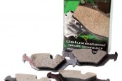 Image may not reflect your exact vehicle! PBR® - Deluxe Ceramic Brake Pad Set