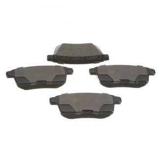 PBR® - Deluxe Ceramic Rear Brake Pad Set