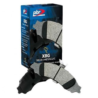 PBR® - XBG Semi-Metallic Front Brake Pad Set