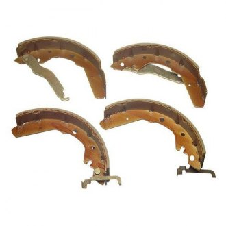 SBS® - Rear Drum Brake Shoe Set