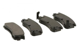 Top Stop® W0133-1927475-TPS - Ceramic Brake Pad Set