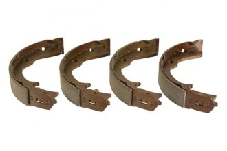 TRW® - Parking Brake Shoe Set