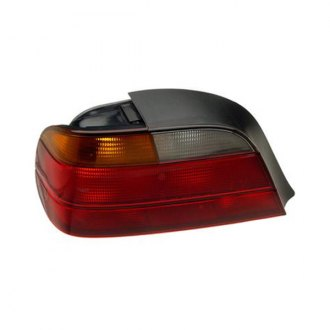 ULO® - Chrome Tail Light Assembly with amber turn indicator