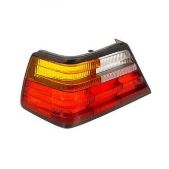 ULO® - Driver Side Chrome Tail Light Lens