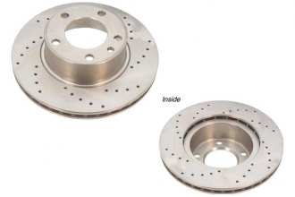 Zimmermann® - Cross Drilled Brake Disc