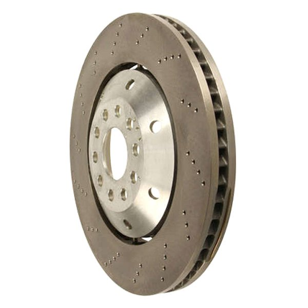 Zimmermann® - Formula Z Drilled 2-Piece Front Brake Rotor