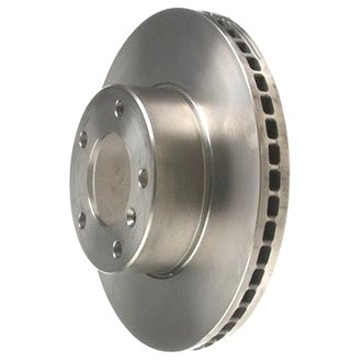 Zimmermann® - Standard Plain Vented 1-Piece Front Brake Rotor