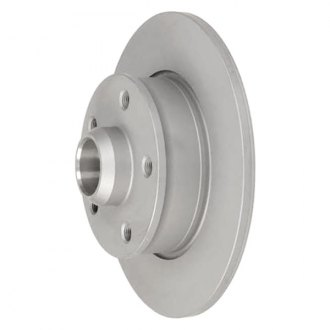 Zimmermann® - Coat-Z Solid Rear Plain Brake Rotor