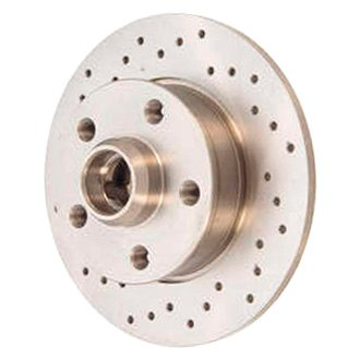 Zimmermann® - Sport Brake Coat Z Cross Drilled Rear Brake Rotor