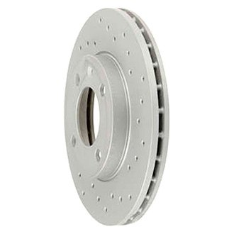 Zimmermann® - Sport Brake Coat Z X-Drill Coated Front Brake Rotor