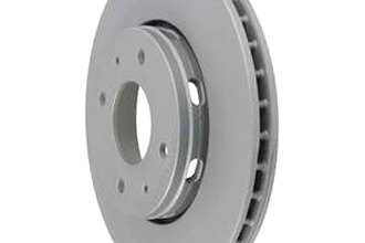 Zimmermann® W0133-1618284-ZIC - Coated Brake Disc