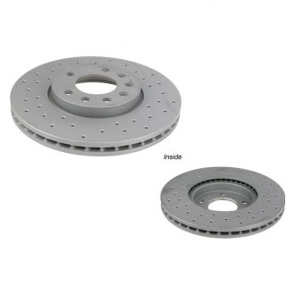Zimmermann® - Sport Brake Coat Z X-Drill Coated Brake Rotor