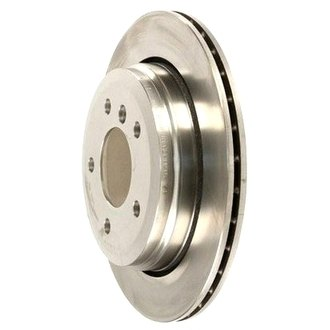 Zimmermann® - Standard Plain Vented 1-Piece Rear Brake Rotor
