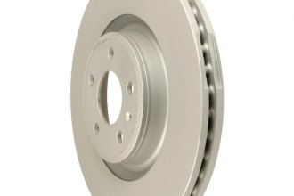 Zimmermann® W0133-1925662-ZIC - Coated Brake Disc
