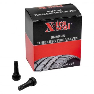 "31 Incorporated® - 50 Pcs. 1.25"" TR 413 Tubeless Rubber Snap-In Valve"
