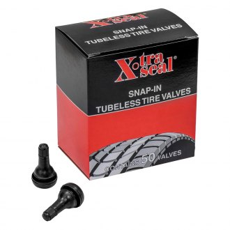 "31 Incorporated® - 50 Pcs. 1.25"" TR 415 Tubeless Rubber Snap-In Valve"