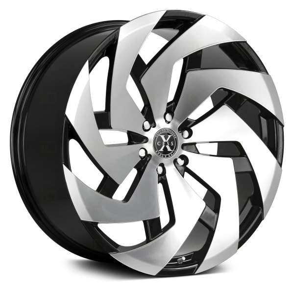 XCESS® - X04 Gloss Black with Machined Face
