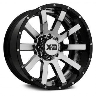 XD SERIES® - XD200 HEIST Chrome Center with Black and Milled Lip