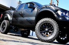 XD SERIES® - ADDICT Matte Black on Ford F-150