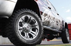 XD SERIES® - MONSTER Chrome on Dodge Ram