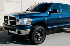 XD SERIES® - MONSTER Matte Black on Dodge Ram