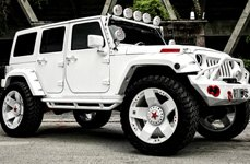 XD SERIES® - ROCKSTAR Custom Painted on Jeep Wrangler