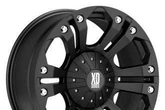 "XD SERIES® - MONSTER Matte Black (22"" x 9.5"", +18 Offset, 6x139.7 Bolt Pattern, 106.25mm Hub)"