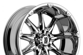 "XD SERIES® - BADLANDS Chrome (18"" x 9"", +18 Offset, 5x139.7 Bolt Pattern, 108mm Hub)"