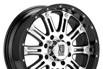 XD SERIES® - HOSS Gloss Black with Machined Face