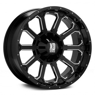 XD SERIES� - BOMB Gloss Black with Milled Spokes