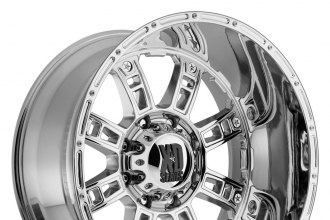 "XD SERIES® - RIOT Chrome (18"" x 9"", +18 Offset, 8x180 Bolt Pattern, 124.2mm Hub)"